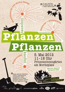 Plakat Pflanzentauschmarkt 2012